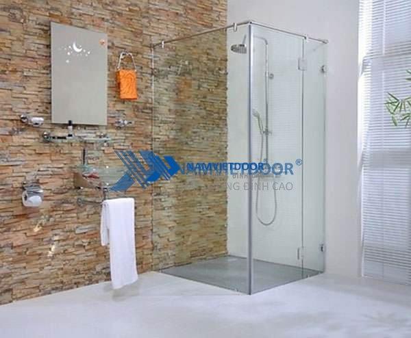 Lý do nên sử dụng vách kính phòng tắm trong cuộc sống hiện đại