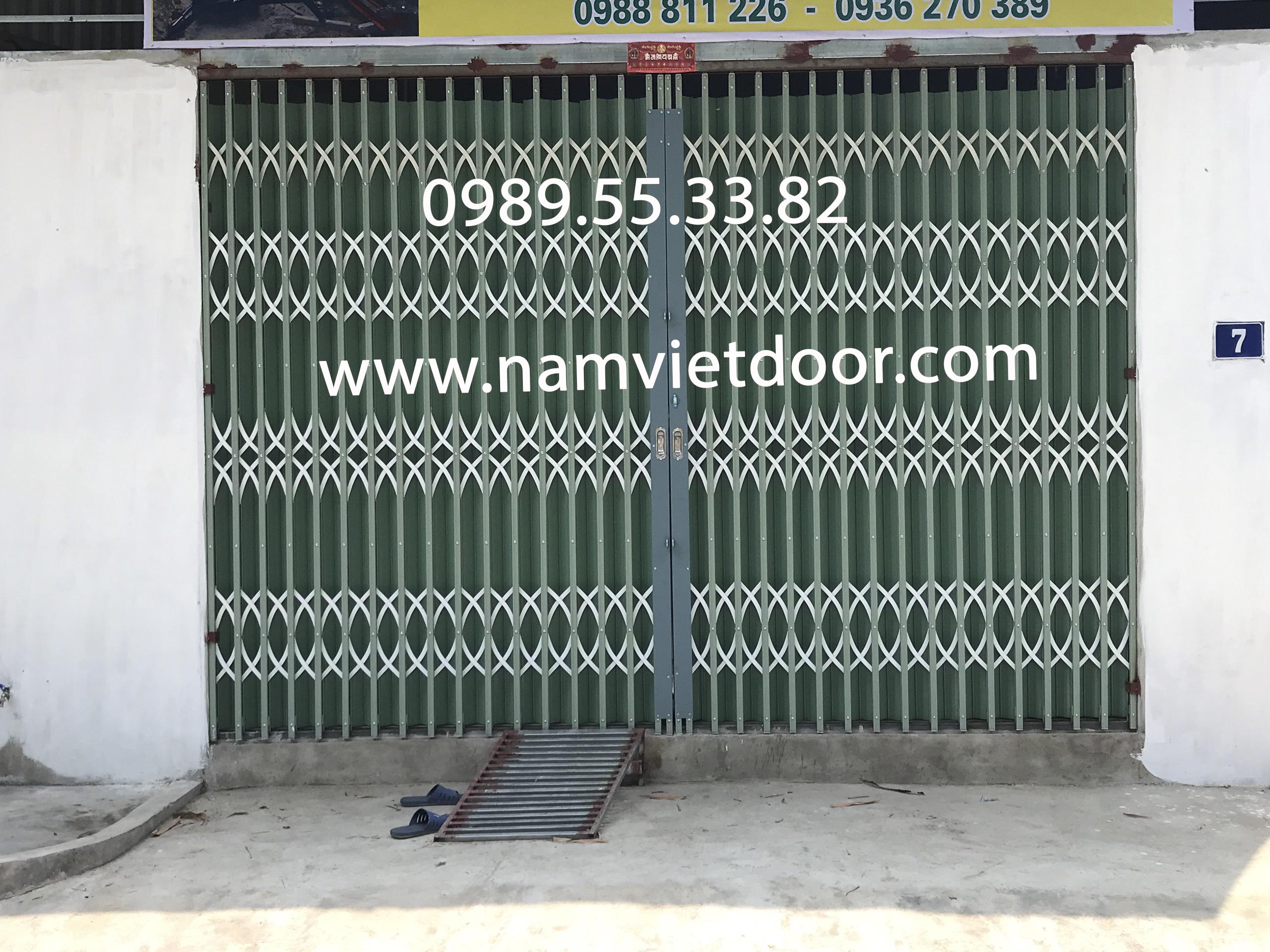 Cửa xếp Đài Loan cao cấp Nam Việt